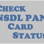 How to Check NSDL PAN Status Online? Tin NSDL Pan Status