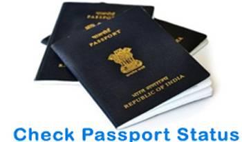 check passport status online