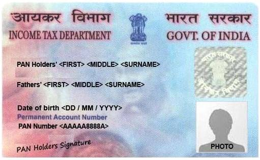 Documents Required For Pan Card Application Complete List