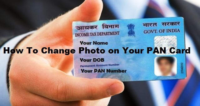PAN Card photo change